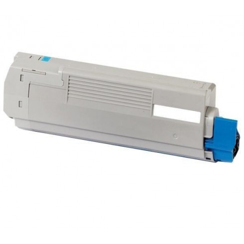 Toner Oki Compatível 44844507 C831C Azul (10.000 Pág.)