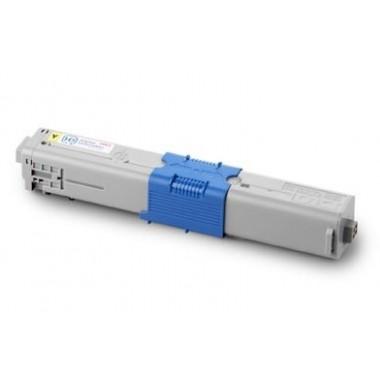 Toner Oki Compatível 46508709/46508713 C332Y Amarelo (3.000