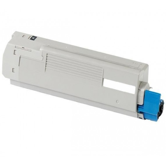 Toner Oki Compatível 46490608/46490404 C542BK Preto (7.000 Pág.)