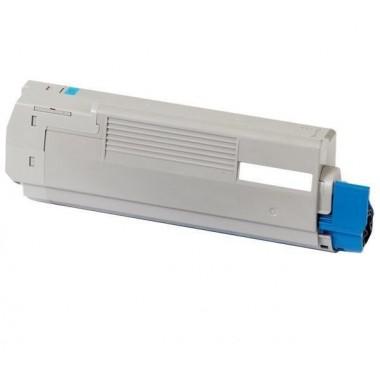 Toner Oki Compatível 46490607/46490403 C542C Ciano (6.000 Pág.)
