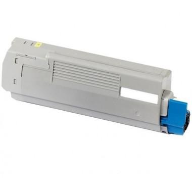 Toner Oki Compatível 46490605/46490401 C542Y Amarelo (6.000