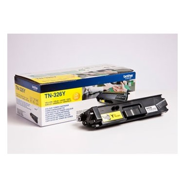 Toner Brother TN326Y Amarelo Brother Consumíveis