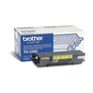 Toner Brother TN3280 Preto Brother Consumíveis