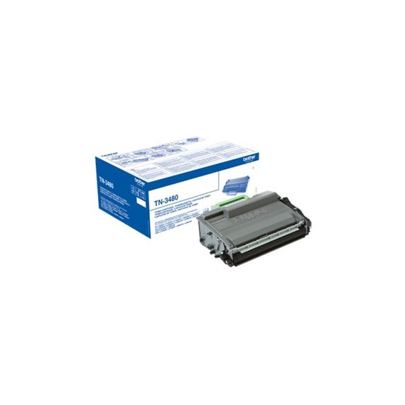 Toner Brother TN3480 Preto Brother Consumíveis