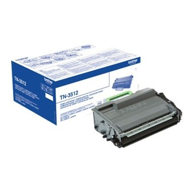 Toner Brother TN3512 Preto Brother Consumíveis