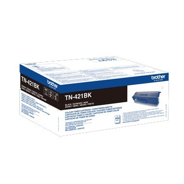 Toner Brother TN421BK Preto Brother Consumíveis