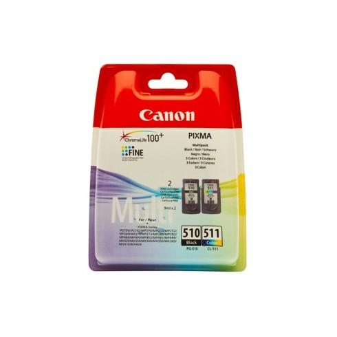 Tinteiro Canon 2970B010 Preto e Tricolor Canon Consumíveis