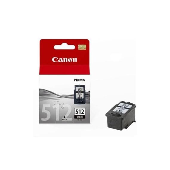 Tinteiro Canon PG512 Preto Canon Consumíveis