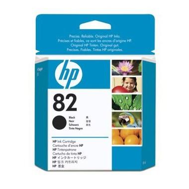 Tinteiro HP Original CH565A Nº82 Preto