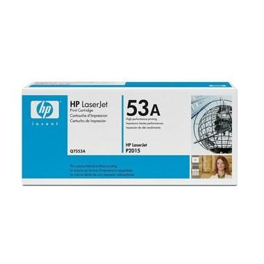 Toner HP Q7553A Preto HP Consumíveis