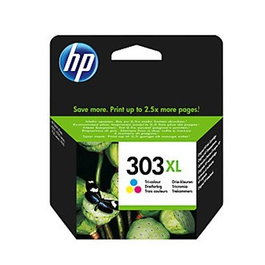 Tinteiro HP T6N03A Tricolor HP Consumíveis