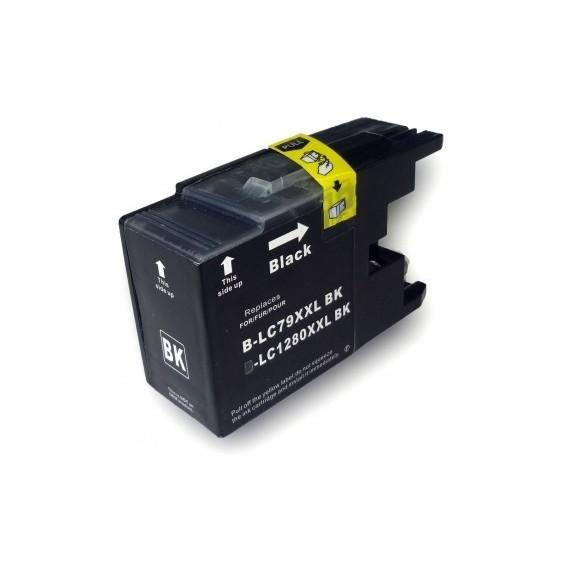 Tinteiro Brother Compatível LC-1280XLBK Preto (72.6 ml)