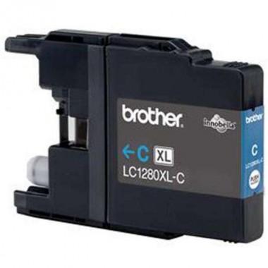 Tinteiro Brother Compatível LC-1280XLC Ciano Brother Compatível Consumíveis