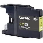 Tinteiro Brother Compatível LC-1280XLY Amarelo Brother Compatível Consumíveis