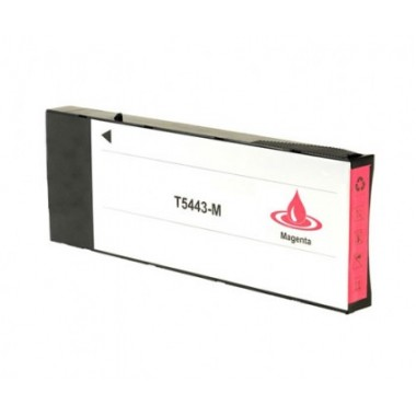 Tinteiro Epson Compatível C13T544300 T544300 Magenta (220 ml)