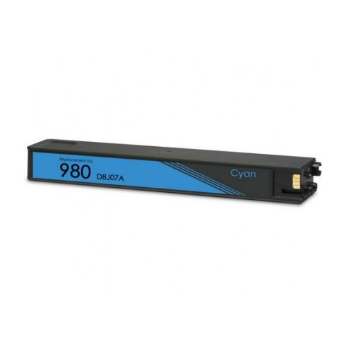 Tinteiro HP Compatível D8J07A Nº980XLC Ciano (110 ml)