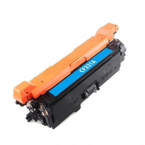 Toner HP Compatível CF331A Nº654A Ciano (15.000 Pág.)