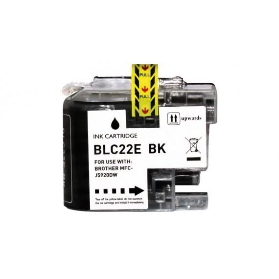 Tinteiro Brother Compatível LC-22EBK Preto (57.6 ml)