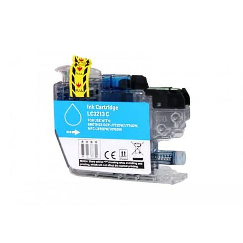 Tinteiro Brother Compatível LC-3211C/LC-3213C Azul Brother Compatível Consumíveis