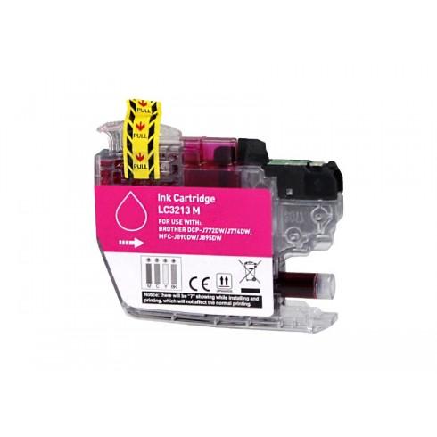 Tinteiro Brother Compatível LC-3211M/LC-3213M Magenta Brother Compatível Consumíveis