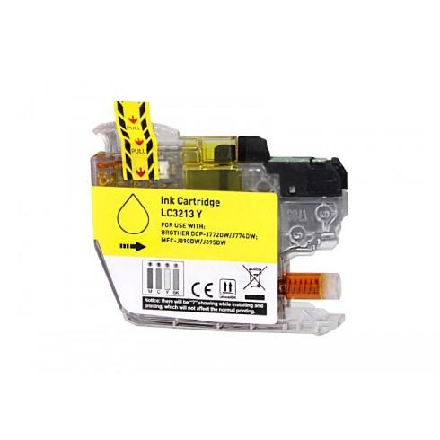 Tinteiro Brother Compatível LC-3211Y/LC-3213Y Amarelo Brother Compatível Consumíveis