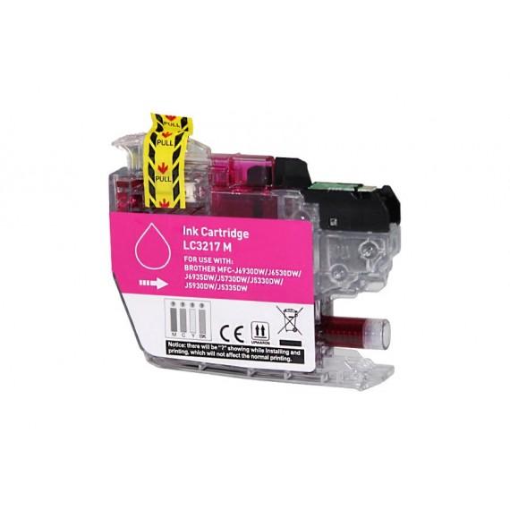 Tinteiro Brother Compatível LC-3217M Magenta (10 ml)