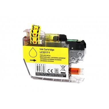 Tinteiro Brother Compatível LC-3217Y Amarelo (10 ml)