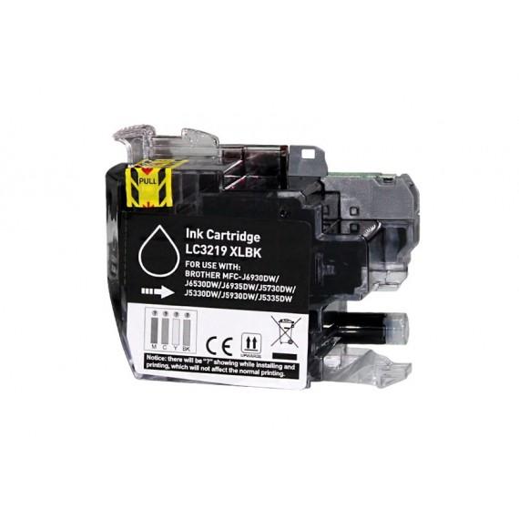 Tinteiro Brother Compatível LC-3219XLBK Preto (60 ml)
