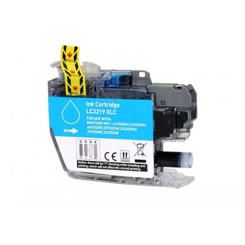 Tinteiro Brother Compatível LC-3219XLC Ciano (18 ml)
