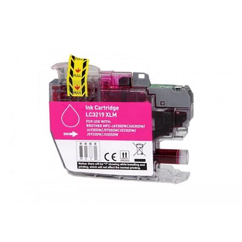 Tinteiro Brother Compatível LC-3219XLM Magenta (18 ml)