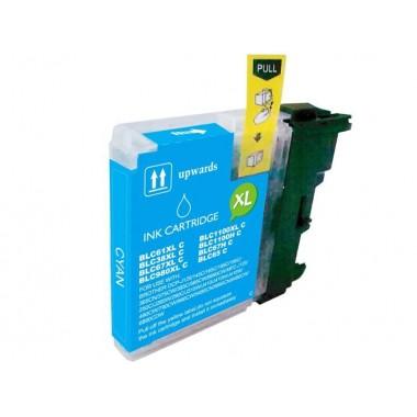 Tinteiro Brother Compatível LC-980XLC/LC-1100XLC Ciano (18 ml)