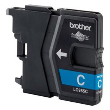 Tinteiro Brother Compatível LC-985XLC Ciano Brother Compatível Consumíveis