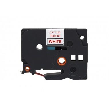 Fita Brother Compatível TZE-232 Vermelho/Branco Brother Compatível Consumíveis