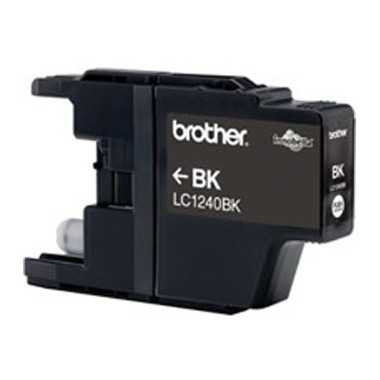 Tinteiro Brother Original LC1240BK Preto (600 Pág.)
