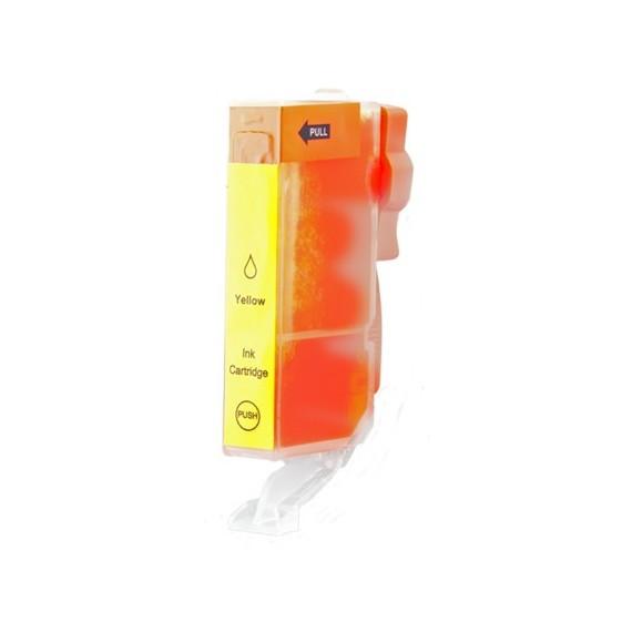 Tinteiro Canon Compatível 6446B001 CLI551YXL Amarelo (13 ml)