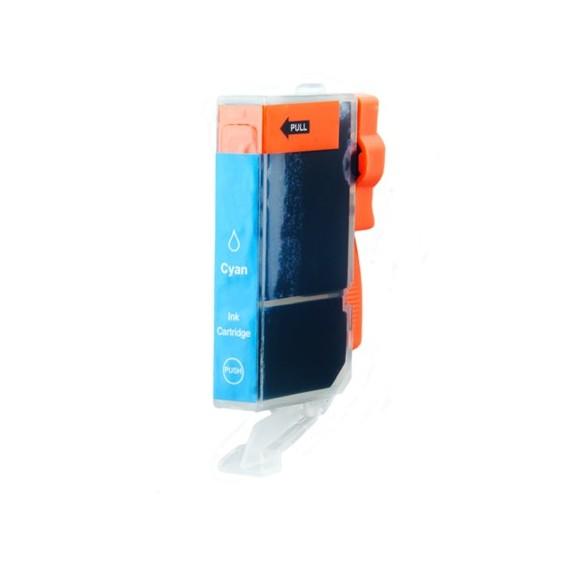 Tinteiro Canon Compatível 0332C001 CLI571CXL Ciano (11 ml)