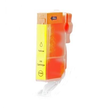 Tinteiro Canon Compatível 0334C001 CLI571YXL Amarelo (11 ml)