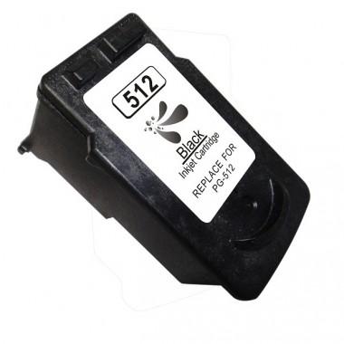 Tinteiro Canon Compatível 2969B001 PG512/PG510 Preto (16 ml)