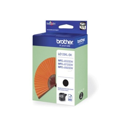 Tinteiro Brother LC129XLBK Preto Brother Consumíveis