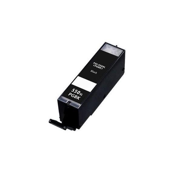 Tinteiro Canon Compatível 6431B001 PGI550PGBKXL Preto (22 ml)