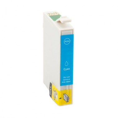 Tinteiro Epson Compatível C13T05424010 T0542 Ciano (17 ml)