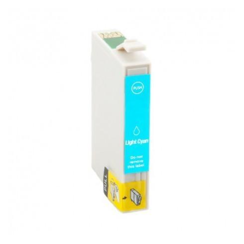 Tinteiro Epson Compatível C13T07954010 Azul Claro Epson Compatível Consumíveis