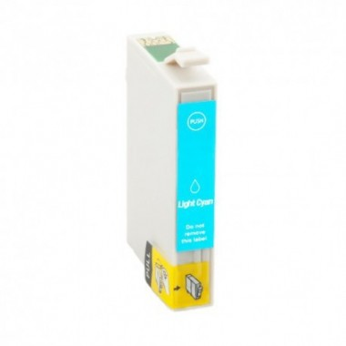 Tinteiro Epson Compatível C13T08054010 Ciano Claro Epson Compatível Consumíveis