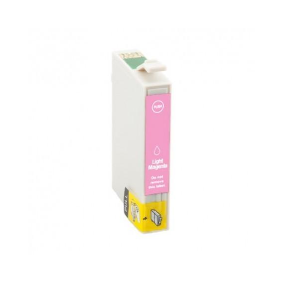 Tinteiro Epson Compatível C13T08064010 Magenta Claro Epson Compatível Consumíveis