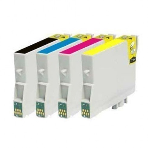 Tinteiro Epson Compatível C13T12954010 T1295 4 Cores (2x 15 ml
