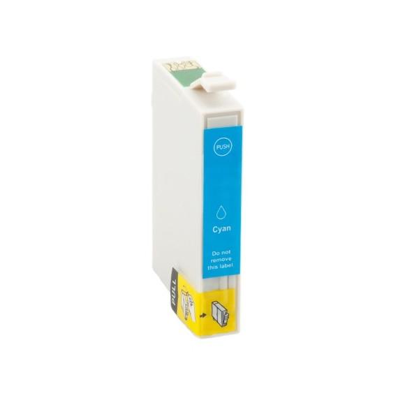 Tinteiro Epson Compatível C13T13024010 T1302 Ciano (14 ml)