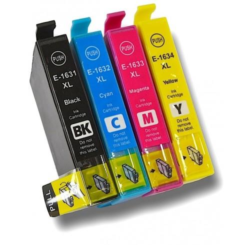 Tinteiro Epson Compatível C13T16364010 4-Color Epson Compatível Consumíveis
