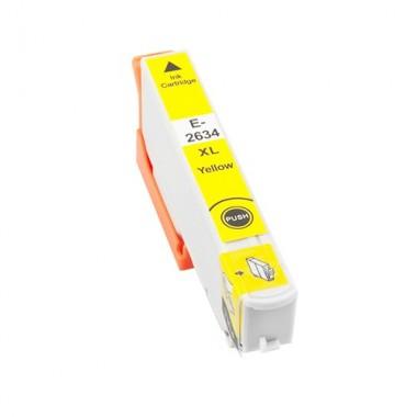 Tinteiro Epson Compatível C13T26344010/C13T26144010 Amarelo Epson Compatível Consumíveis