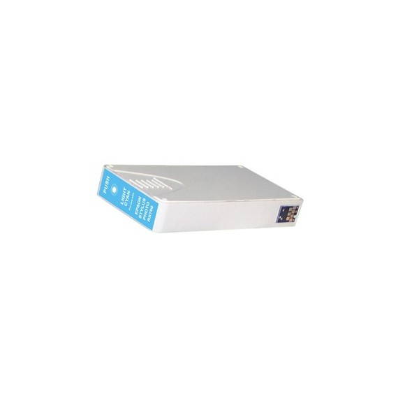 Tinteiro Epson Compatível C13T55954010 T5595 Ciano Claro (16 ml)