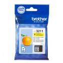 Tinteiro Brother Original LC3211Y Amarelo (200 Pág.)